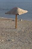 parasolowy wicker Zdjęcie Royalty Free