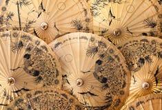parasols παραδοσιακές ομπρέλε&sigm στοκ εικόνες