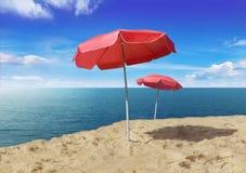 Parasols Photo libre de droits