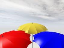 parasols Images stock