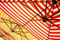 parasols zdjęcie stock