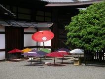 Parasols japonais de aération, Kyoto Japon Photographie stock
