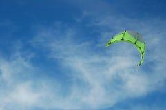 parasurfing的风帆 库存图片