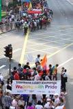 Parata 2009 di orgoglio di Hong Kong Fotografie Stock