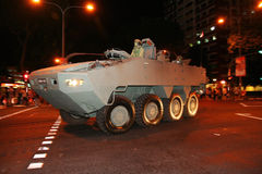 Parata 2010 di giorno nazionale di Singapore Fotografia Stock