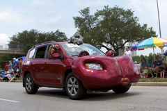 Parata 2011 dell'automobile di arte di Houston Fotografia Stock Libera da Diritti