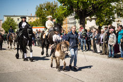 Parata annuale del ` s di StGeorge Fotografia Stock Libera da Diritti
