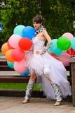 Parata annuale di cerimonia nuziale Fotografia Stock