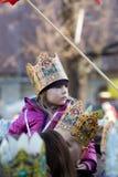 Parata biblica dei saggi del Re Magi tre Immagini Stock