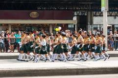 Parata brasiliana di festa dell'indipendenza Fotografie Stock