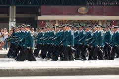 Parata brasiliana di festa dell'indipendenza Fotografie Stock Libere da Diritti