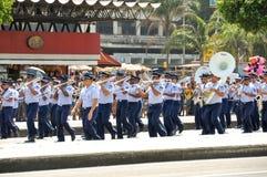 Parata brasiliana di festa dell'indipendenza Fotografia Stock
