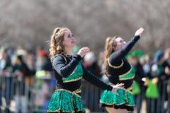 Parata Chicago 2019 del giorno di St Patrick fotografia stock