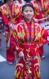 Parata cinese del nuovo anno Fotografie Stock Libere da Diritti