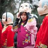 Parata cinese del nuovo anno a Parigi Fotografia Stock Libera da Diritti