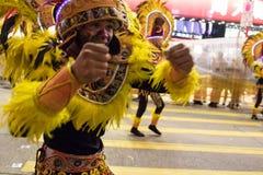 Parata cinese di notte del nuovo anno Fotografia Stock