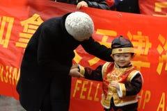 Parata cinese di nuovo anno Immagini Stock