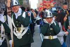 Parata cinese di nuovo anno 2012 a San Francisco Fotografia Stock Libera da Diritti