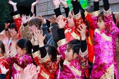 Parata cinese di nuovo anno 2012 a San Francisco Immagini Stock Libere da Diritti