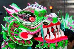 Parata cinese di nuovo anno 2012 a San Francisco Immagine Stock Libera da Diritti