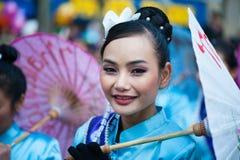 Parata cinese di nuovo anno Immagine Stock