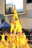 Parata cinese internazionale 2012 di notte di nuovo anno Immagine Stock Libera da Diritti