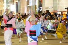 Parata cinese internazionale 2013 di notte dell'nuovo anno Immagini Stock Libere da Diritti