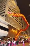 Parata cinese internazionale 2013 di notte dell'nuovo anno Fotografia Stock Libera da Diritti