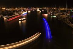Parata degli indicatori luminosi Fotografie Stock