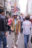Parata dei cappelli di Pasqua Fotografie Stock