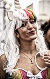 Parata del costume di Purim Immagine Stock Libera da Diritti