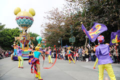 Parata del Disney a Hong Kong Immagine Stock