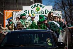 Parata del giorno di San Patrizio Fotografia Stock Libera da Diritti