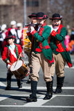 Parata del giorno di San Patrizio Fotografia Stock