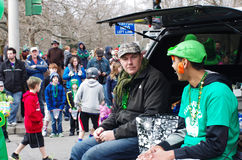 Parata del giorno di St Patrick fotografie stock