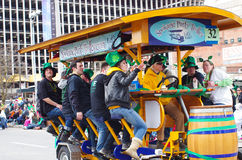 Parata del giorno di St Patrick fotografia stock