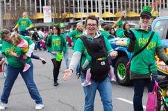 Parata del giorno di St Patrick immagini stock libere da diritti