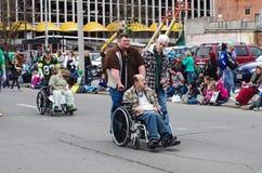 Parata del giorno di St Patrick Fotografia Stock Libera da Diritti