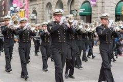 Parata del giorno di St Patrick a Toronto Fotografia Stock