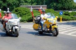 Parata del motociclo a Wroclaw, Polonia Fotografie Stock Libere da Diritti