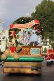 Parata del Natale di Disneyland Fotografia Stock
