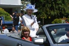Parata del partito di tè della baia della quercia il 4 giugno 2011 Immagine Stock Libera da Diritti