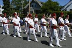 Parata del partito di tè della baia della quercia il 4 giugno 2011 Fotografia Stock