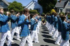 Parata del partito di tè della baia della quercia il 4 giugno 2011 Fotografie Stock Libere da Diritti