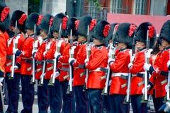 Parata del soldato Immagini Stock Libere da Diritti
