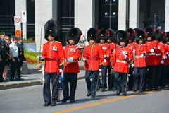 Parata del soldato Fotografie Stock Libere da Diritti