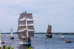 Parata della vela, Newport, RI Immagine Stock Libera da Diritti