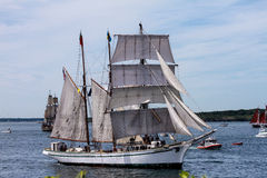 Parata della vela, Newport, RI Immagini Stock Libere da Diritti