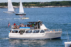 Parata della vela, Newport, RI Immagini Stock