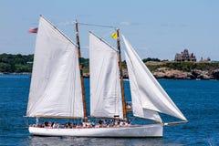 Parata della vela, Newport, RI Fotografia Stock Libera da Diritti